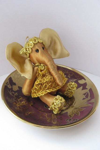 мягкая игрушка мини слоник