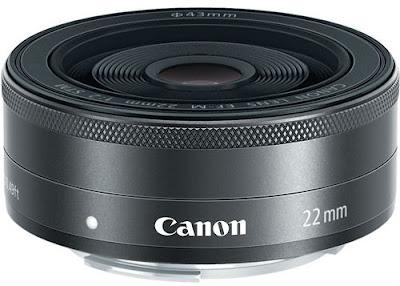 Fotografia dell'obiettivo Canon EF-M 22mm F2