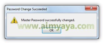 Gambar: Konfirmasi perubahan password