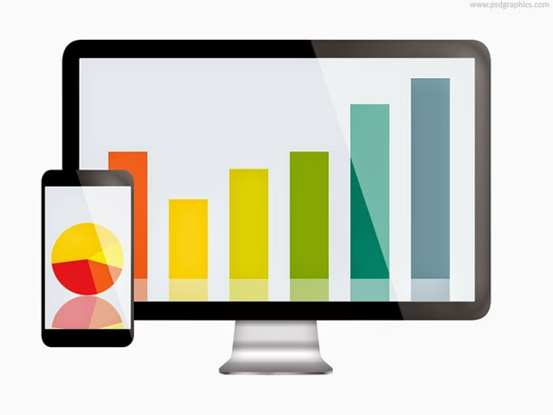Data Analytics Icon PSD