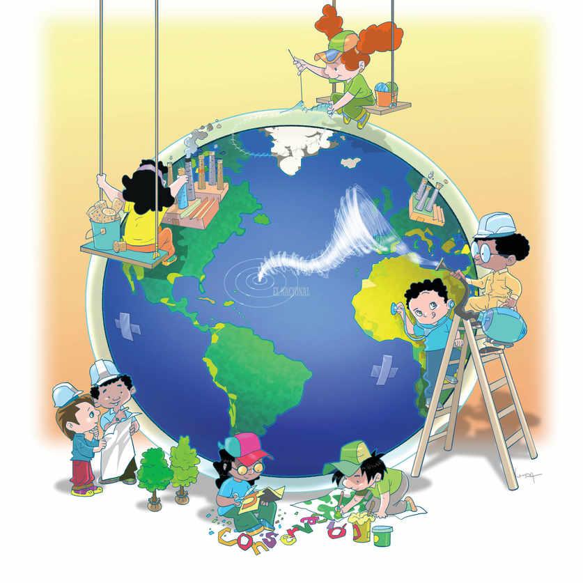 dibujos sobre como cuidar el planeta