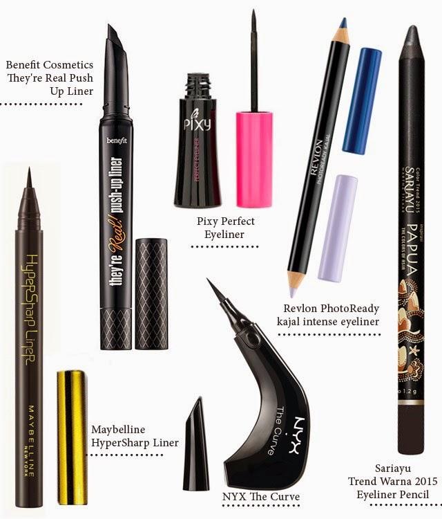 6 Jenis Eyeliner Untuk Mempercantik Mata Anda