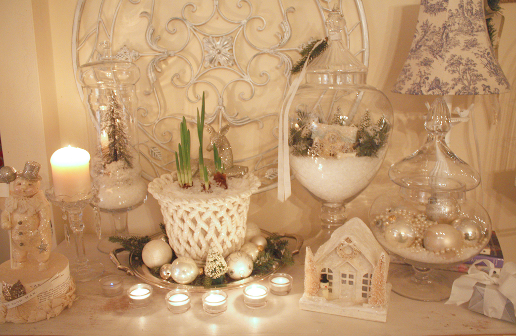 Decorating Ideas > My Romantic Home Christmas In White! ~ 195421_Decorating Christmas Jars Ideas