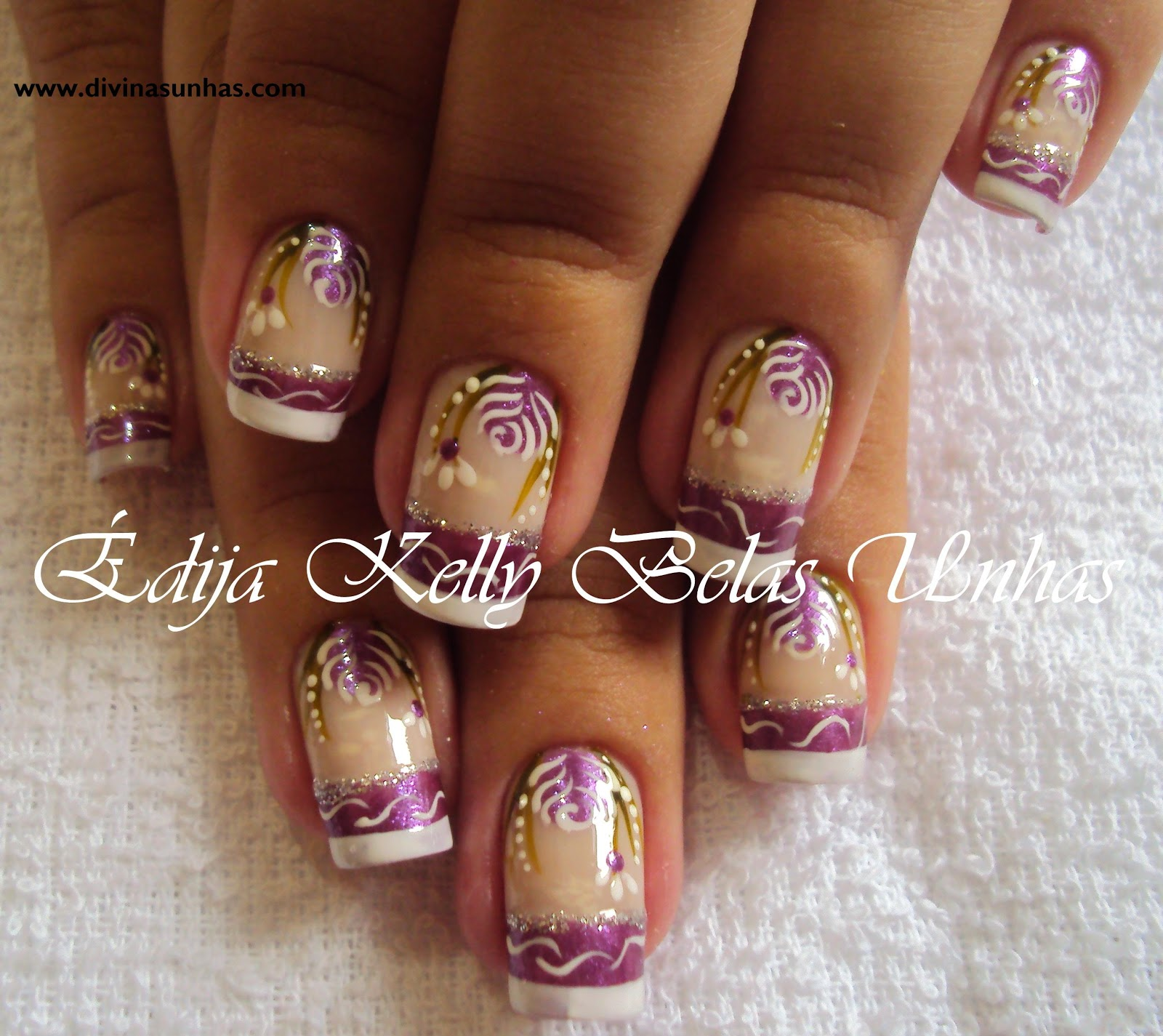 NOVE FOTOS DE UNHAS DECORADAS DE EDIJA KELLY