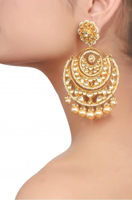 Get Ethnic Look By Wearing Designer Earrings