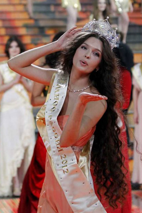The Voice Of A Seagull 海鸥之声 Miss Russia World 2012