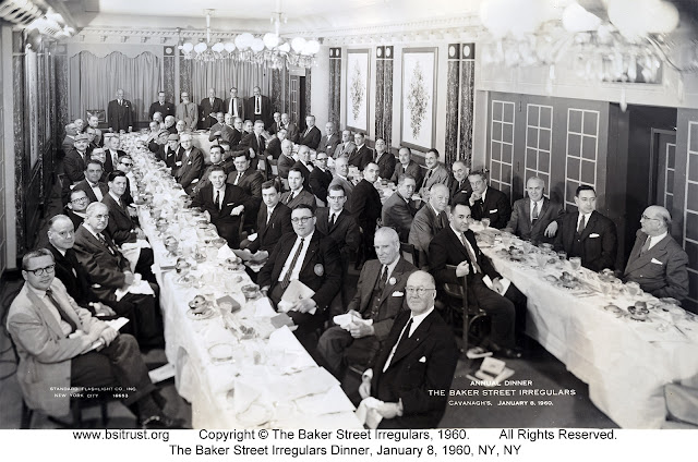The 1960 BSI Dinner group photo