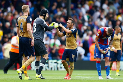 Cuplikan Gol Crystal Palace 1 - 2 Arsenal