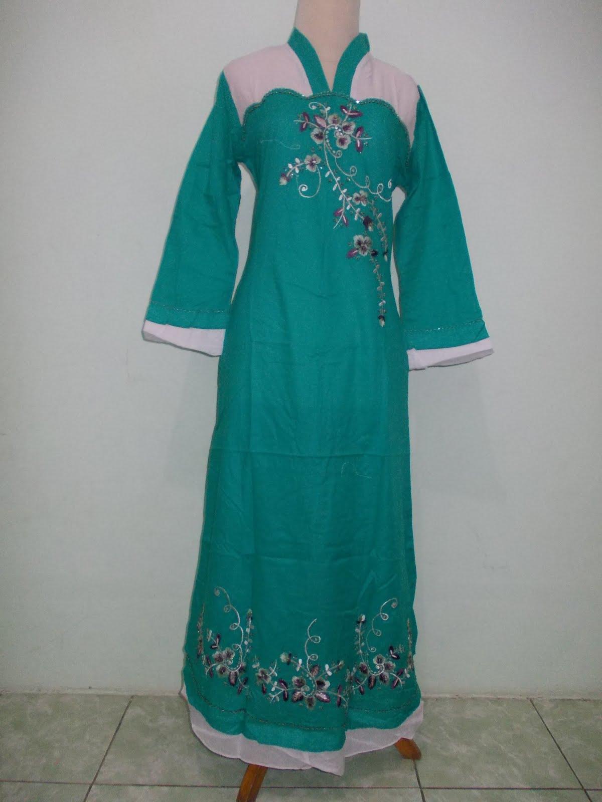 Baju Muslim Murah Meriah Gamis Katun