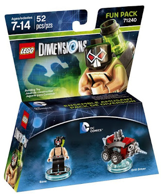 JUGUETES - LEGO Dimenions  71240 DC Comics : Fun Pack - Bane & Drill Driver  Figura | Toys & Videojuegos | 2016 Piezas: 52 | Edad: 7-14 años Comprar en Amazon.es | Buy Amazon.com :