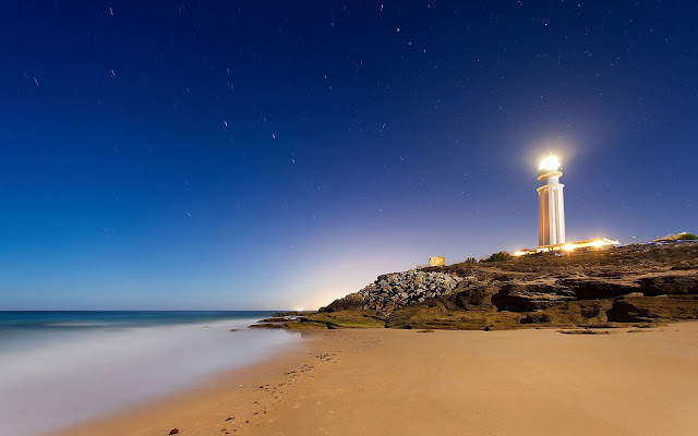 Cape Trafalgar Lighthouse HD Wallpaper