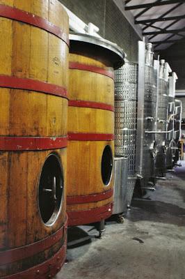 Winnica w starym młynie w Tierhoek