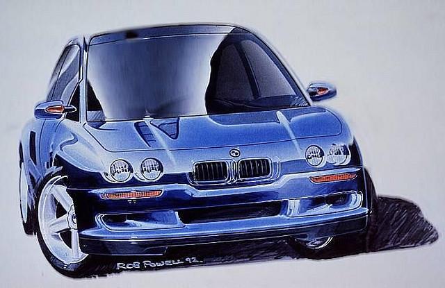 KarzNshit///: \'93 BMW Z13 concept