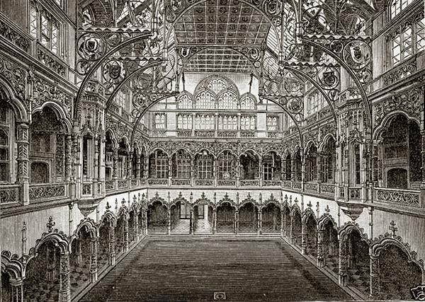 Architektura gotycka decomanka for Chambre des comerces