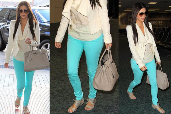 Style Chic: Mint pants!