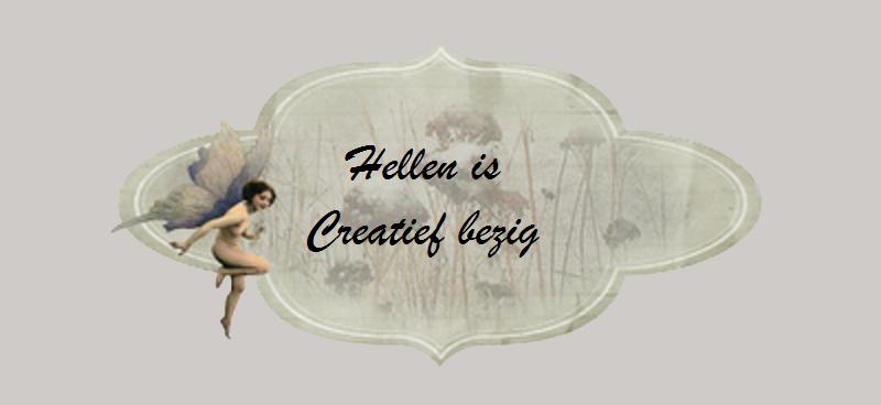 Hellen is Creatief bezig