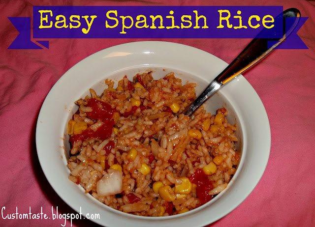 Easy Spanish Rice by Custom Taste
