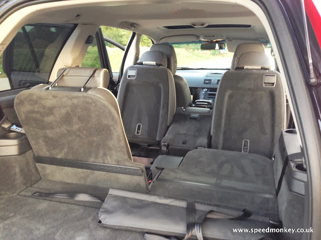 Volvo XC90 SE Lux rear seats