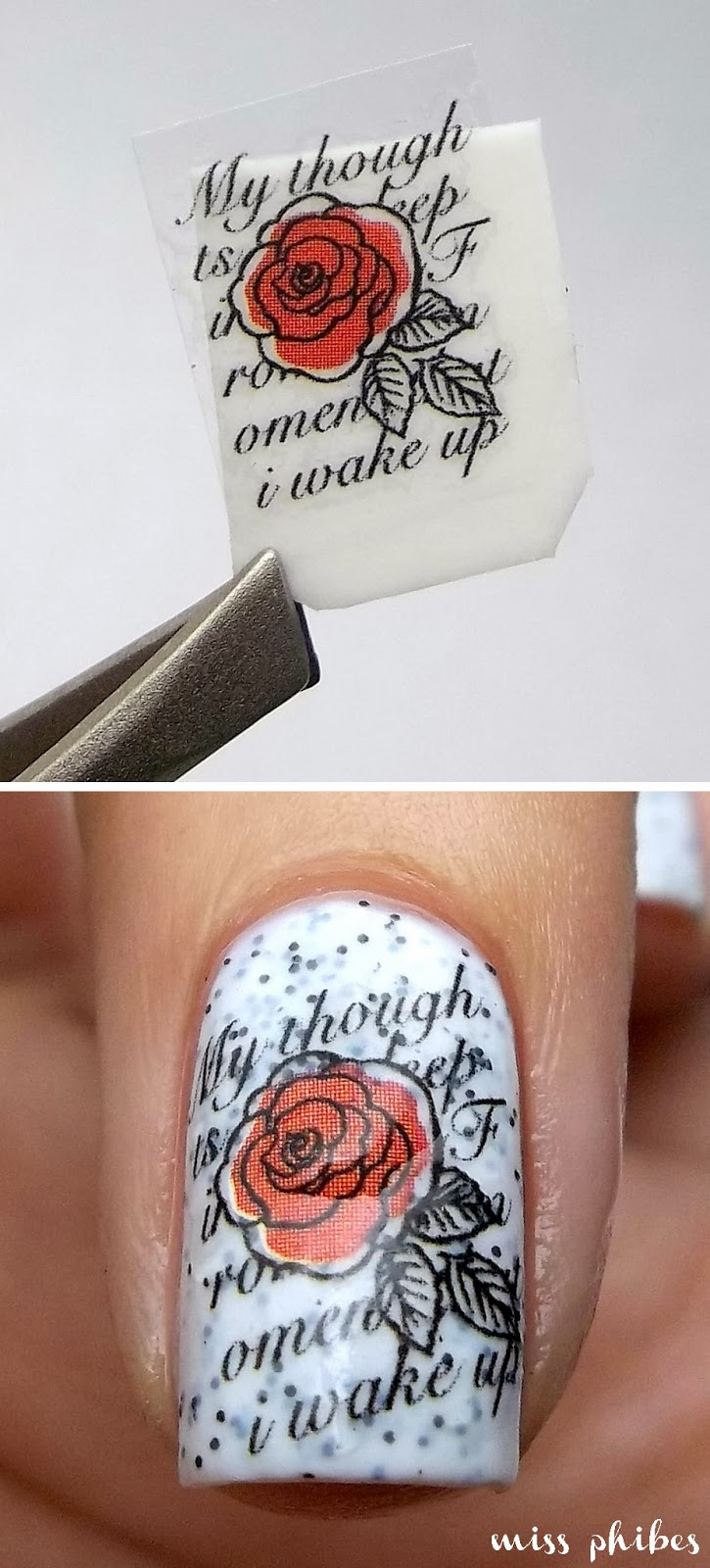 Water Decals de Born Pretty Store
