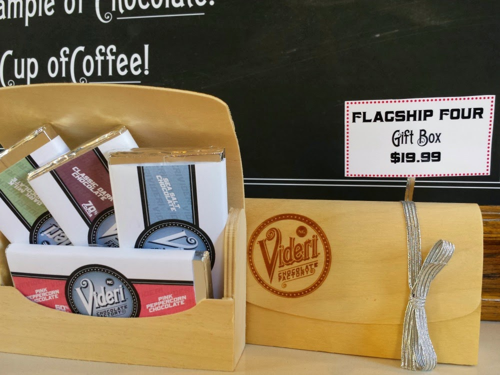 Flagship Bars at Videri Chocolate in Raleigh, N.C.