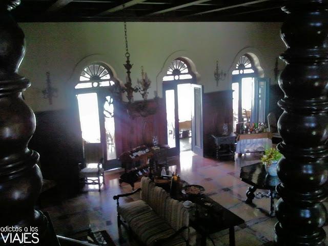 Interior de la Mansión Xanadú