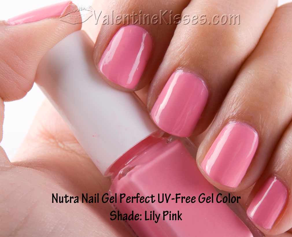 Valentine Kisses: Nutra Nail Gel Perfect UV-Free Gel Color in Lily ...