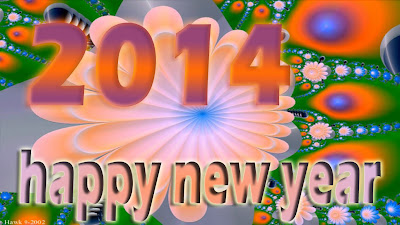 Latest Beautiful Happy New Year Wallpapers 2014