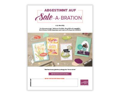Abgestimmt auf Sale-A-Bration