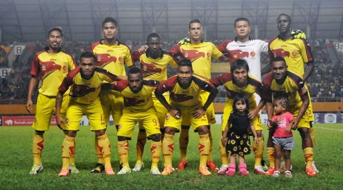 Skuad Sriwijaya FC ISL 2015