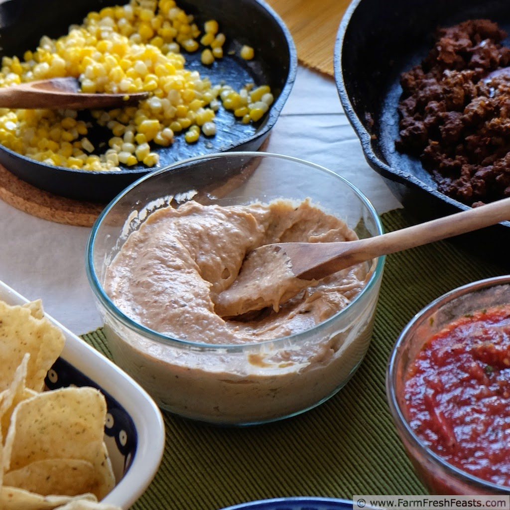 Fast & Easy Bean & Hatch Chile Dip | Farm Fresh Feasts