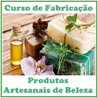CURSO ONLINE FABRICAÇÃO PRODUTOS ARTESANAIS BELEZA