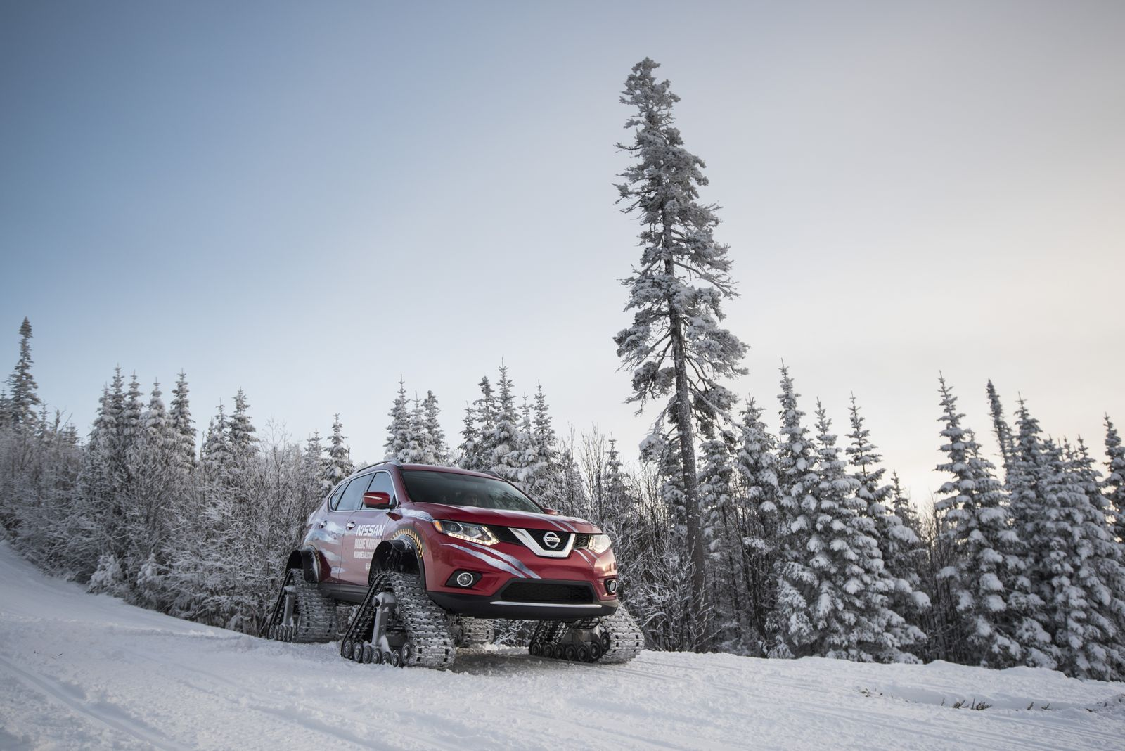 Absolutely Mental Nissan Rogue Warrior Concept Debuts With