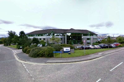 the fabulous headquarters of Stewart Milne Homes at Westhill,Aberdeen