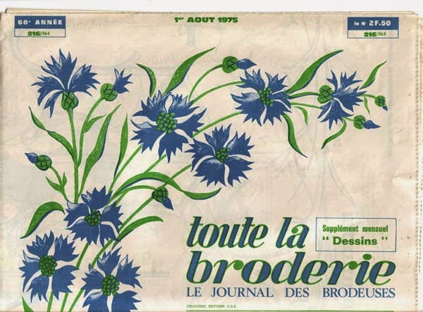 French embroidery patterns