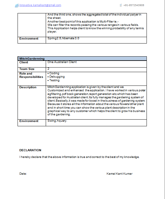 free java developer resume. free java developer resume download ...