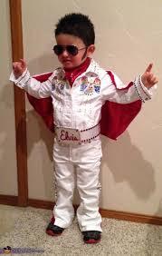 disfraz casero de  Elvis Presley con patrones