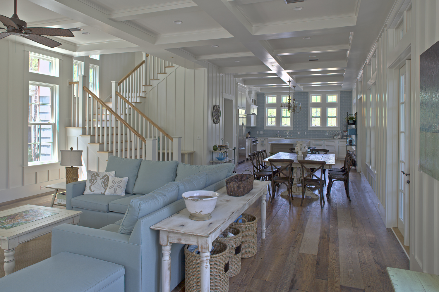 Gulf coast cottages for Beach home interiors