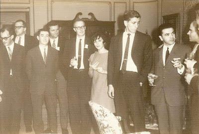 Ajedrecistas participantes en la XVII Olimpíada de Ajedrez de La Habana 1966