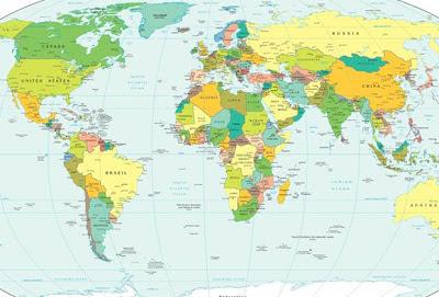 Quantos países existem atualmente?