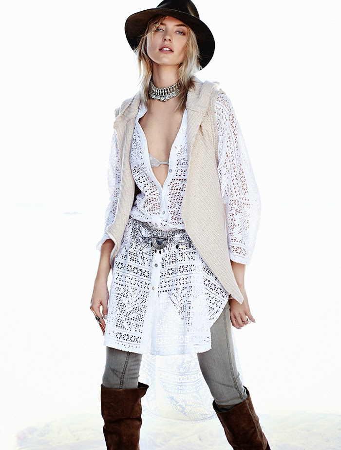 FREE PEOPLE'S AUGUST 2014 LOOKBOOK: INTO THE PALE