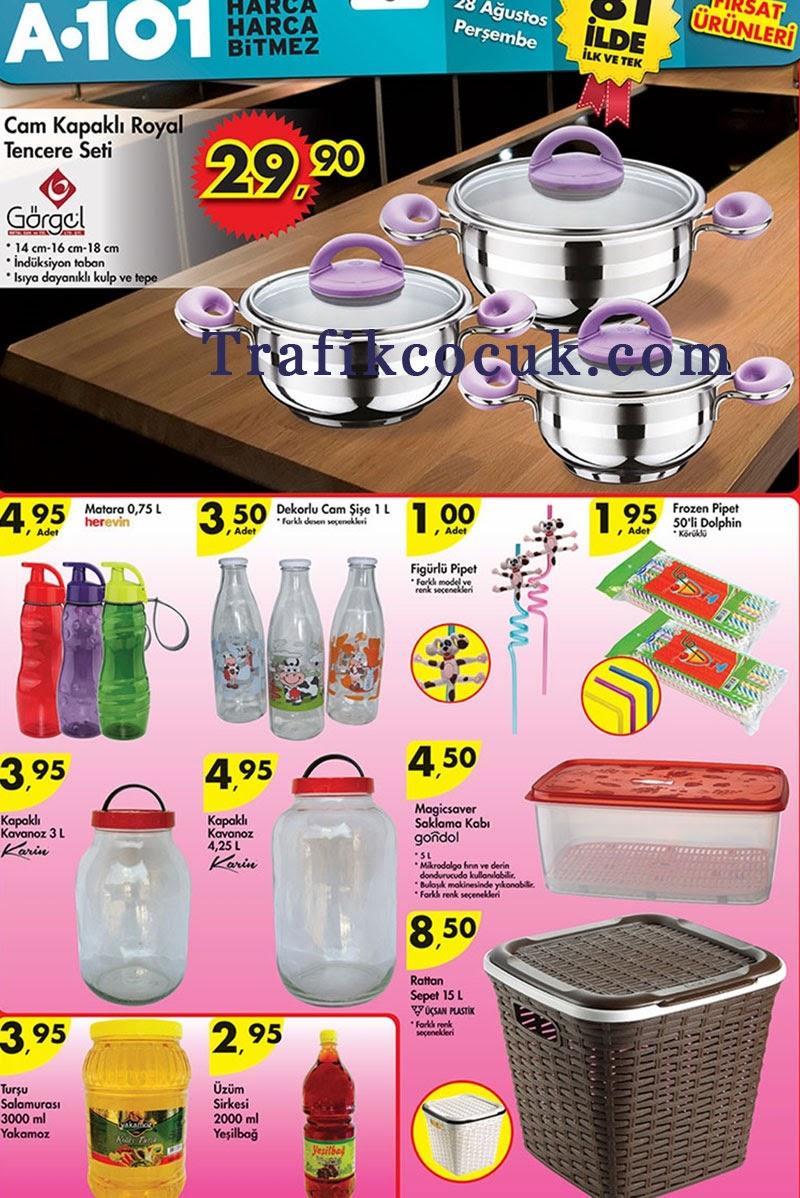A101 28 Ağustos Aktüel ürünler listesi