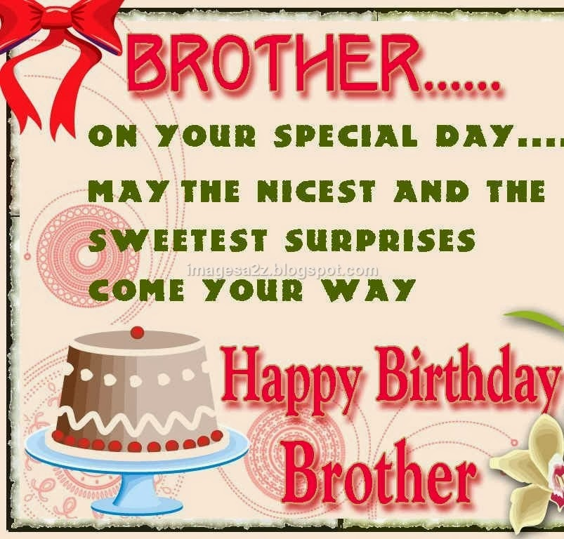 Birthday SMS in Hindi in Marathi In English for Friend in Urdu for    Happy Birthday Wishes For Brother In Hindi
