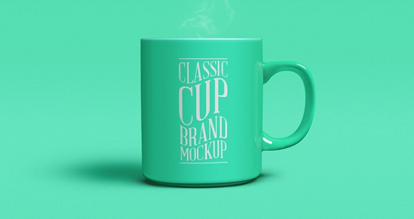 Download Coffee Mug Mockup PSD Terbaru Gratis - Classic Hot Cup Coffee Tea Brand Mockup