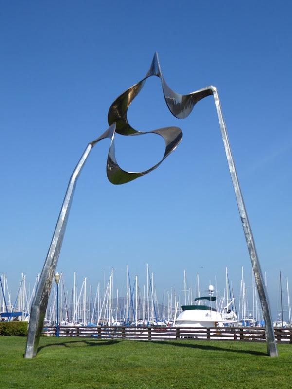 Skygate sculpture Roger Barr San Francisco