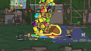 Castle Crashers pile of loot