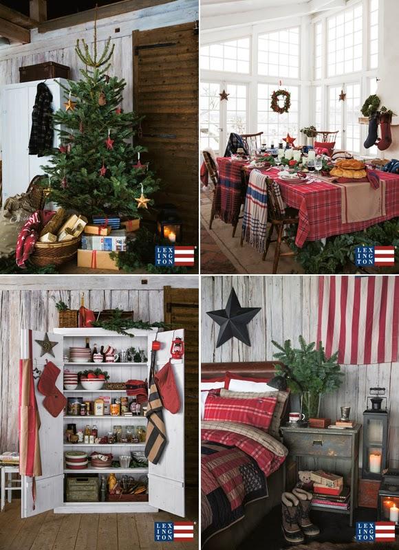 vintage by emilie inredning vintage inspiration lexington holiday collection. Black Bedroom Furniture Sets. Home Design Ideas