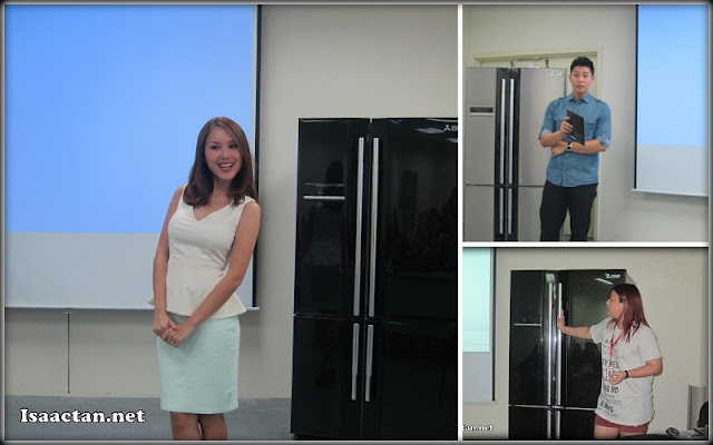 Product introduction and showcase of the features of the L4 Grande Refrigerator