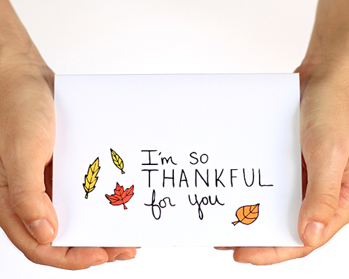 Thanksgiving Party + Printable