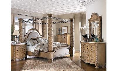 Investment game ashley south coast bedroom set for Ashley millennium bedroom suite