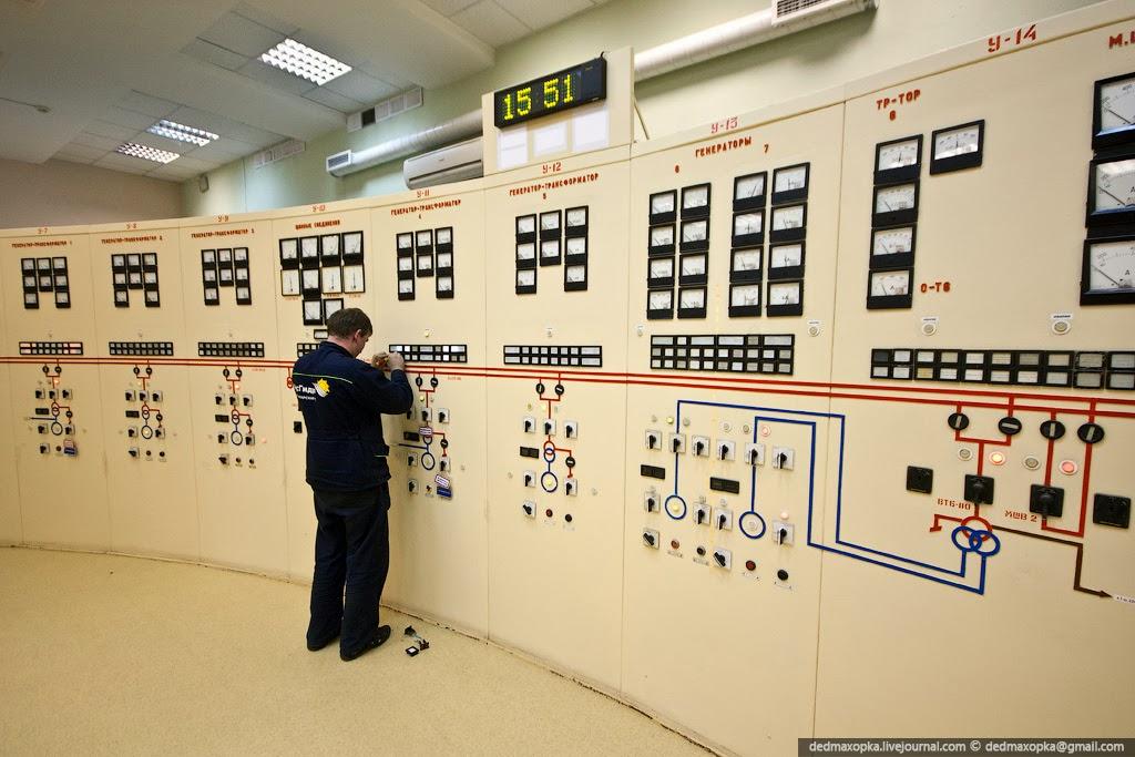 Пуск и остановка крупных агрегатов